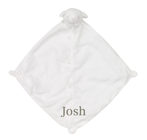 Personalized baby items and gifts letter loft baby animal blankies additional colors negle Gallery