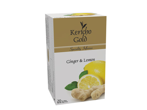 Kericho Gold Ginger and Lemon Tea