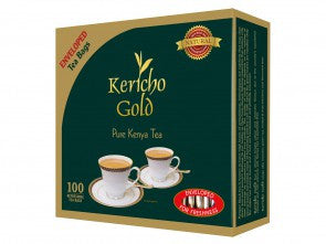 Kericho Gold (100) Enveloped Tea Bags