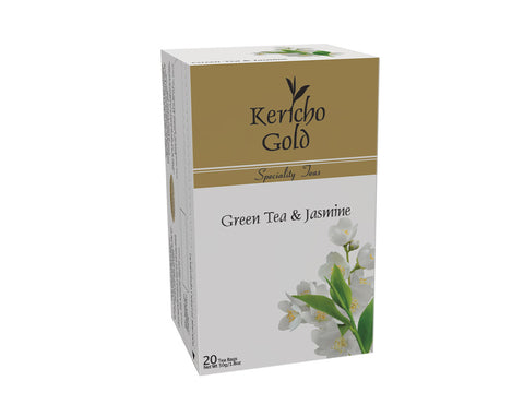 Kericho Gold Green Tea and Jasmine Tea