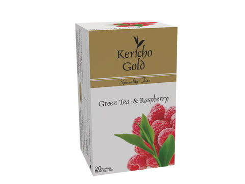 Kericho Gold Green Tea and Raspberry
