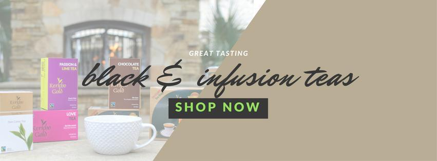 Shop Black and Infusion teas