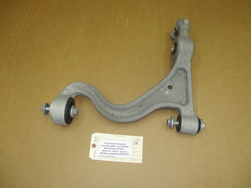 12 Panamera AWD 970 Porsche R FRONT LOWER CONTROL ARM 97034134202 59,000 N/A
