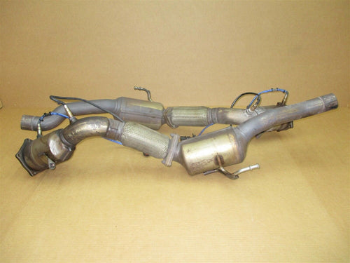 08 Cayenne Turbo AWD Porsche 957 RZO Exhaust Pipes 7L5254300G 102,629