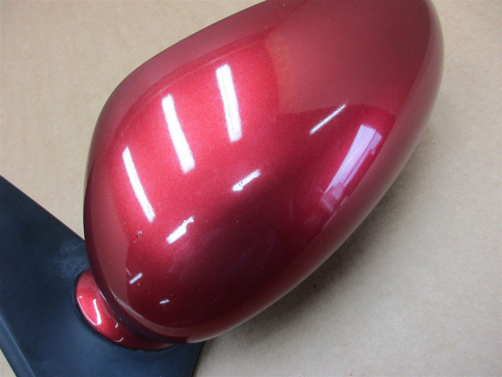 00 Boxster RWD Porsche 986 L EXTERIOR REAR VIEW MIRROR HOUSING Maroon 129,445