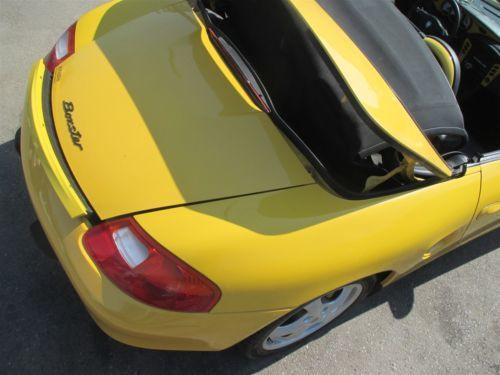 00 Boxster RWD Porsche 986 Parting Out car parts N/A 45,987