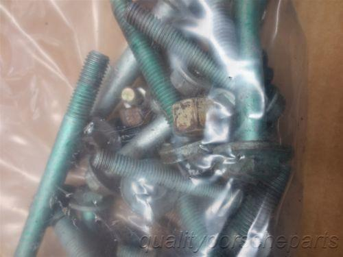 00 Boxster S RWD Porsche 986 3 Pounds Random Hardware Bag NUTS BOLTS 43,313