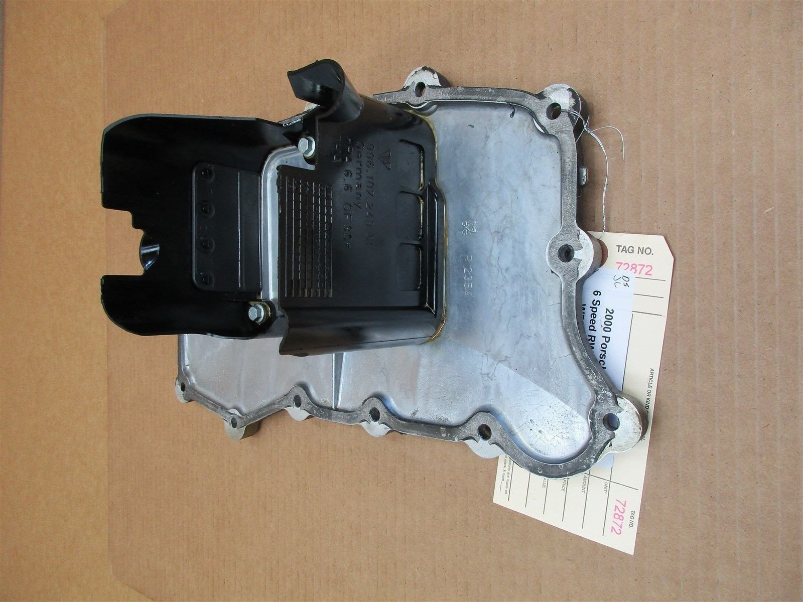 00 Boxster S RWD Porsche 986 Engine 3.2 OIL PAN 9961073108R 99610724351 23,552