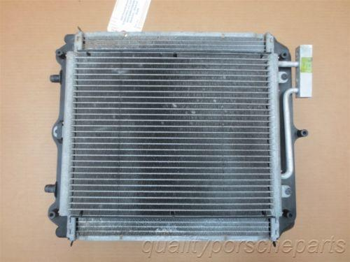 00 Boxster S RWD Porsche 986 L Front RADIATOR CONDENSER + FAN Cooling 28,206