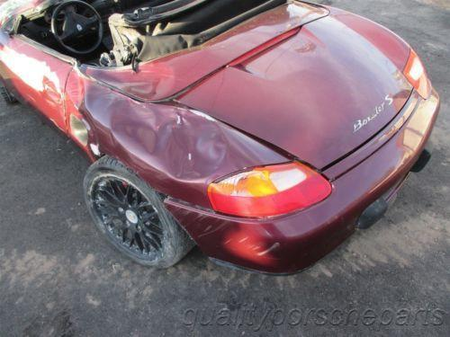 00 Boxster S RWD Porsche 986 Parting Out car parts 70,507