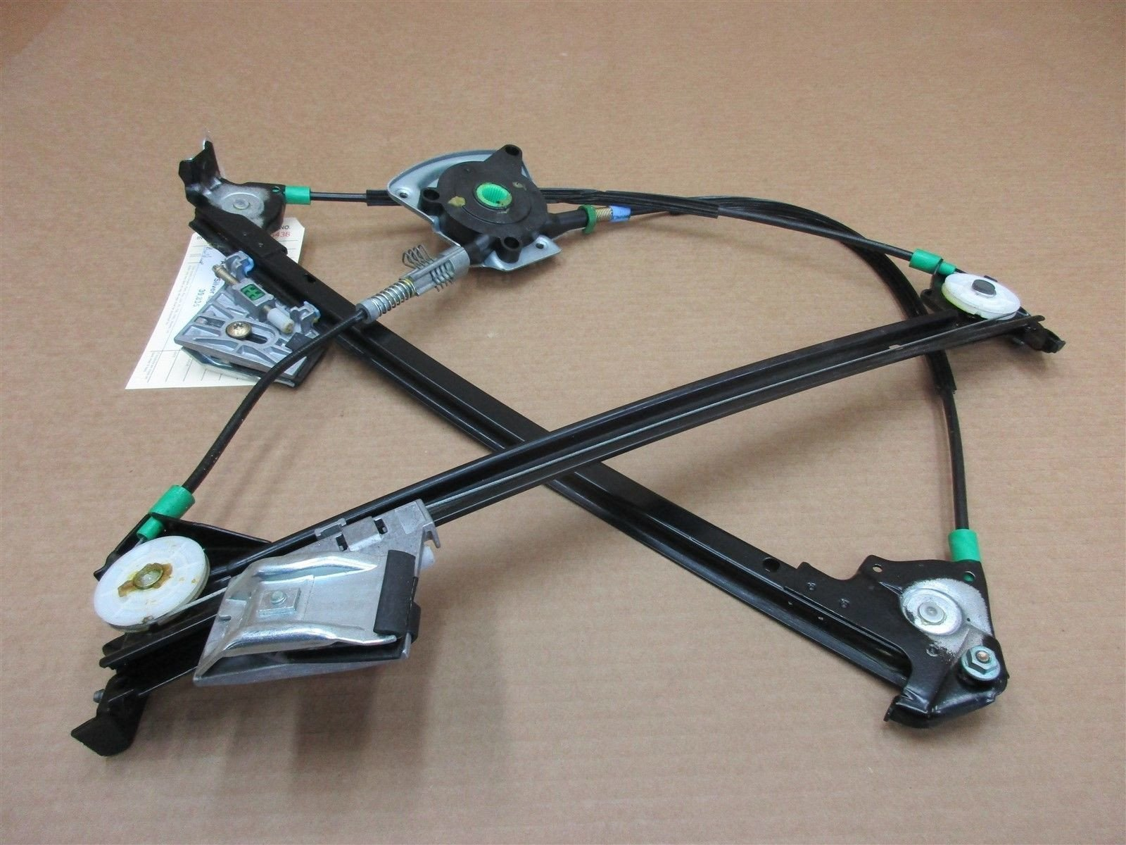 00 Boxster S RWD Porsche 986 R WINDOW REGULATOR 98654201603 PASSENGER 39,835
