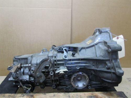 01 Boxster RWD Porsche 986 5 SPEED MANUAL TRANSMISSION GEARBOX EFD 87,092