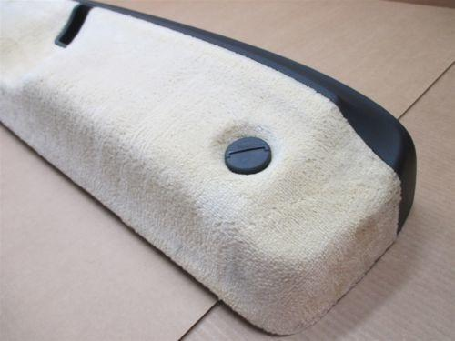 01 Boxster RWD Porsche 986 Black Beige Rear STORAGE COMPARTMENT 986551223 22,384