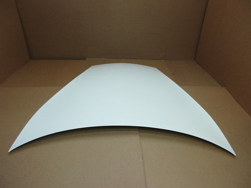01 Boxster RWD Porsche 986 FRONT White EXTERIOR HOOD COVER TRIM PANEL 34,742