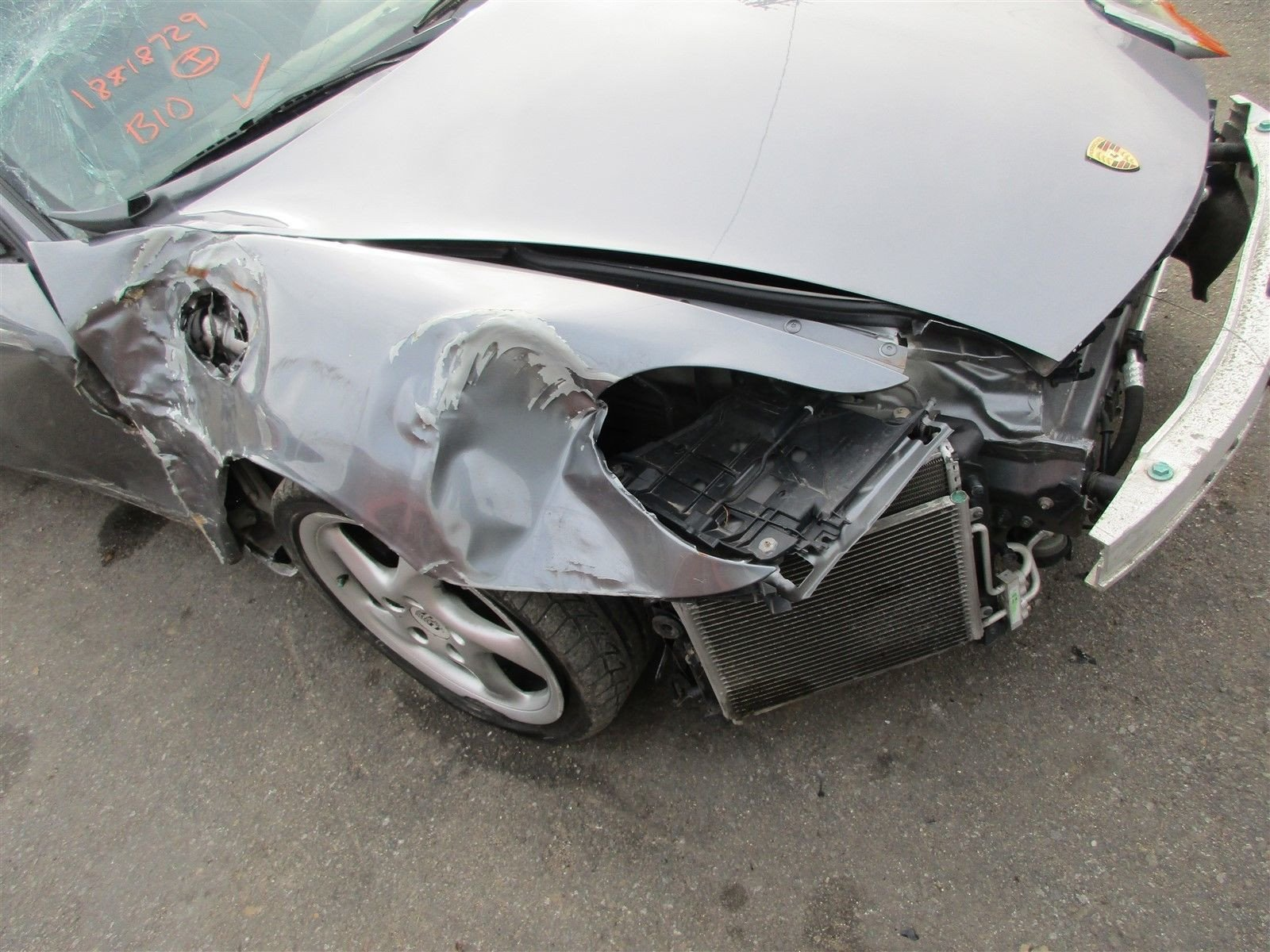 01 Boxster RWD Porsche 986 Parting Out parts car 90,361