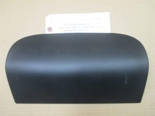 01 Boxster S RWD Porsche 986 Black Leather Dash Airbag TRIM 99680317305 91,161