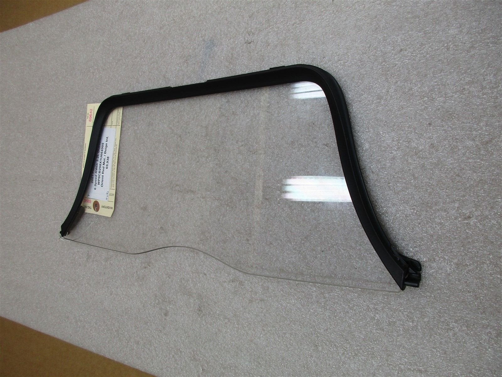 01 Boxster S RWD Porsche 986 Black ROLL BAR + WINDOW 69,938