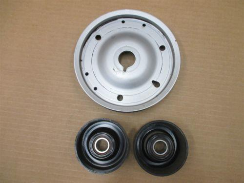 01 Boxster S RWD Porsche 986 Engine 3.2 TENSIONER PULLEYS + CRANK 125,694
