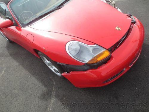 01 Boxster S RWD Porsche 986 Parting Out car parts 38,473