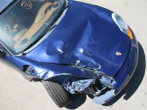 01 Boxster S RWD Porsche 986 Parting Out car parts 46,175