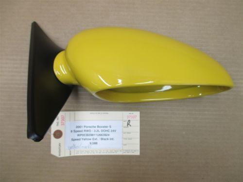 01 Boxster S RWD Porsche 986 R Yellow Exterior Side REAR VIEW MIRROR 9,588