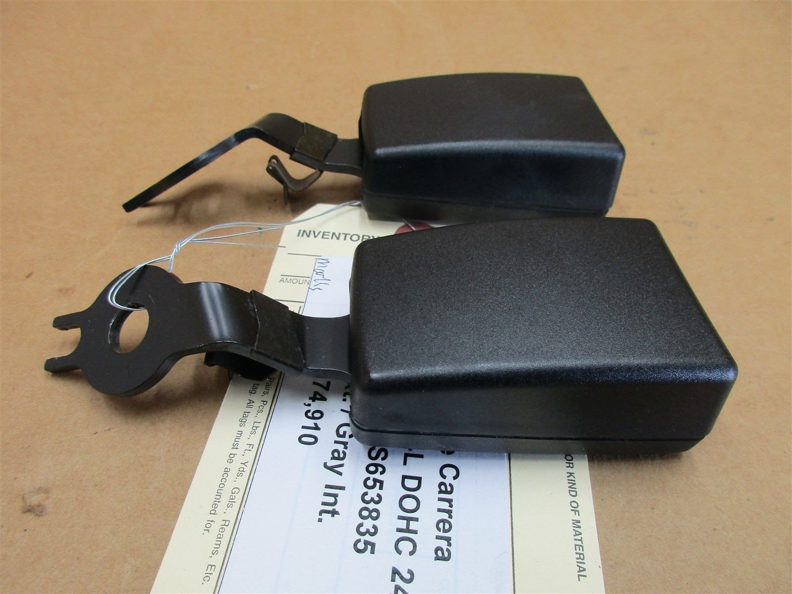 01 Carrera 911 Porsche 996 Cabrio 2 REAR SEAT BELT RECEIVERS 99680316500 74,910