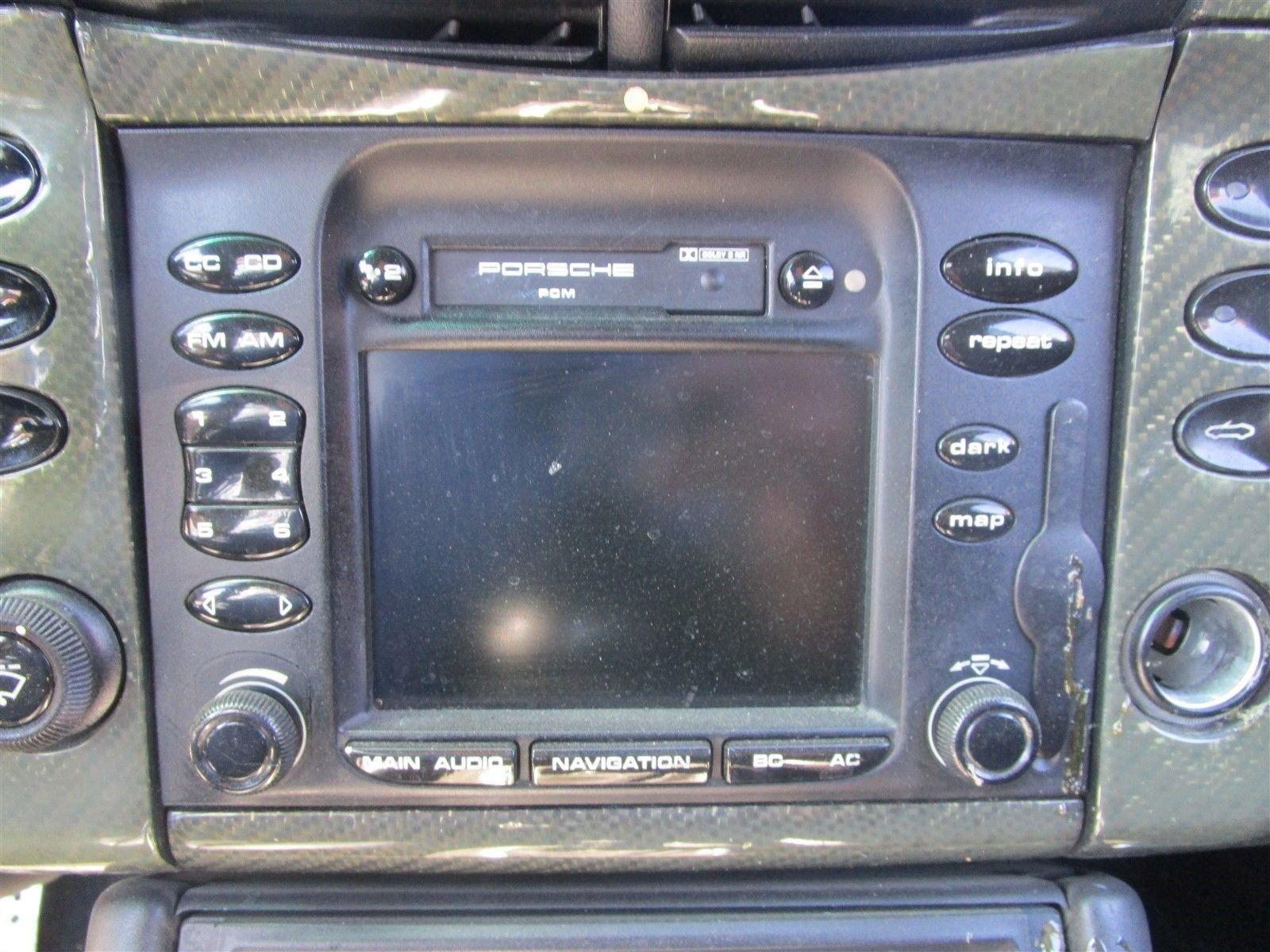 01 Carrera 911 Porsche NAVIGATION RADIO PCM TAPE PLAYER 99664290504 N/A 81,816