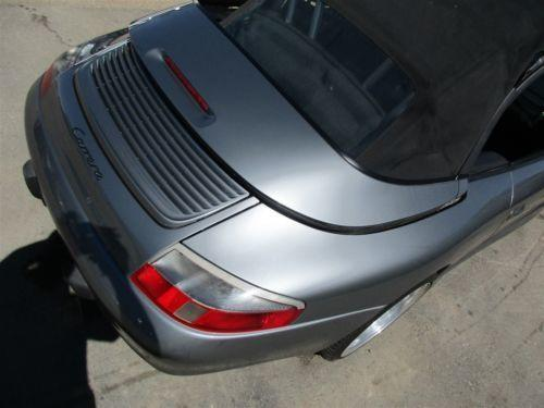 01 Carrera 911 RWD Porsche 996 Cabrio Parting Out car parts 73,422