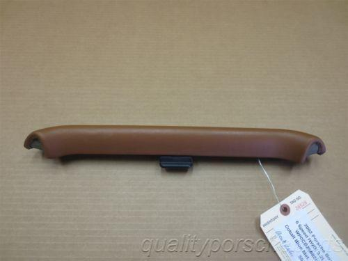 02 Boxster S RWD Porsche 986 3 Brown ROLL BAR TRIMS COVERS PANELS 55,041