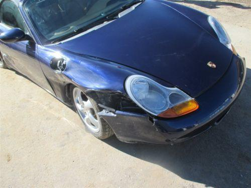 02 Boxster S RWD Porsche 986 Parting Out car parts 59,862
