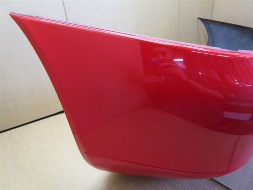 99 Boxster RWD Porsche 986 REAR BUMPER COVER SHELL TRIM 98650541101 red 157,494