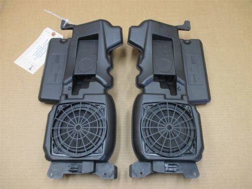 97 Boxster RWD Porsche 986 R L Interior Front Door SPEAKERS + BOXES 42,452