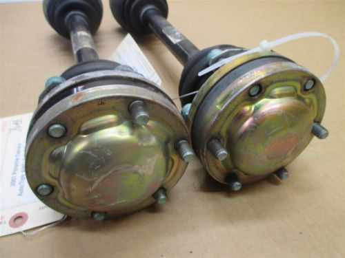 01 Carrera 911 RWD Porsche 996 Coupe R L Rear AXLE SHAFTS 99633202404 88,141