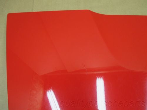 07 Boxster S RWD Porsche 987 Rear Red HOOD TRUNK COVER LID 83,845