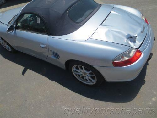 04 Boxster RWD Porsche 986 Parting Out car parts 94,086