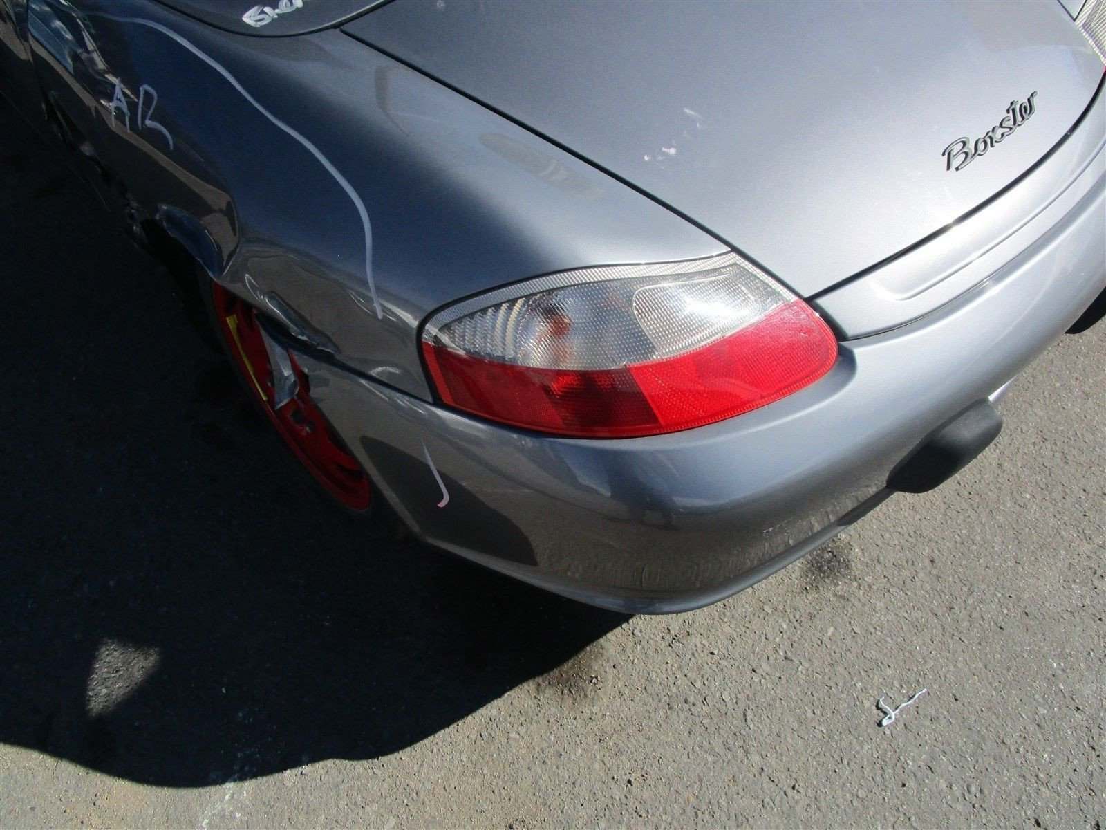 04 Boxster RWD Porsche 986 Parting Out parts car 22,067