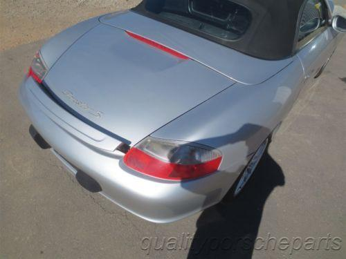 04 Boxster S RWD Porsche 986 Parting Out car parts 95,648