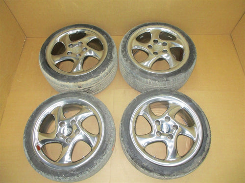"04 Carrera 911 Porsche Cabrio STN RIMS WHEELS 18"" 99336214004 99336213406 34,807"