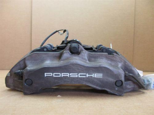 04 Cayenne AWD Porsche 955 R RIGHT FRONT Gray BRAKE CALIPER 208432062 120,217