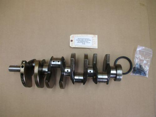 04 Cayenne S AWD Porsche 955 Engine 4.5 CRANKSHAFT CRANK SHAFT LOBES 87,595
