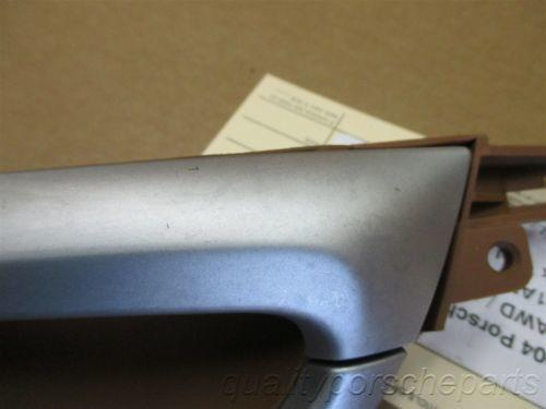 04 Cayenne S AWD Porsche 955 L Rear Interior DOOR HANDLE 7L5837113 69,497