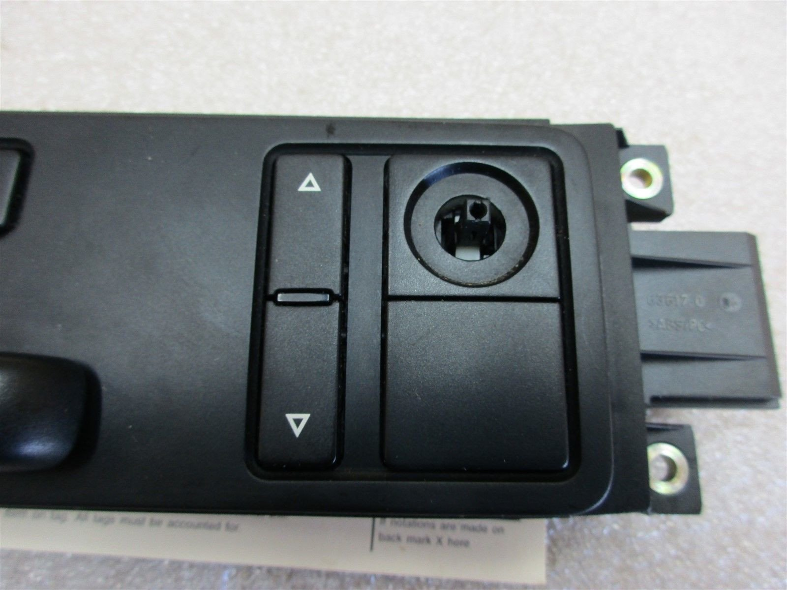 04 Cayenne S AWD Porsche 955 R FRONT SEAT SWITCHES 14-WAY 7L5959766B 140,313