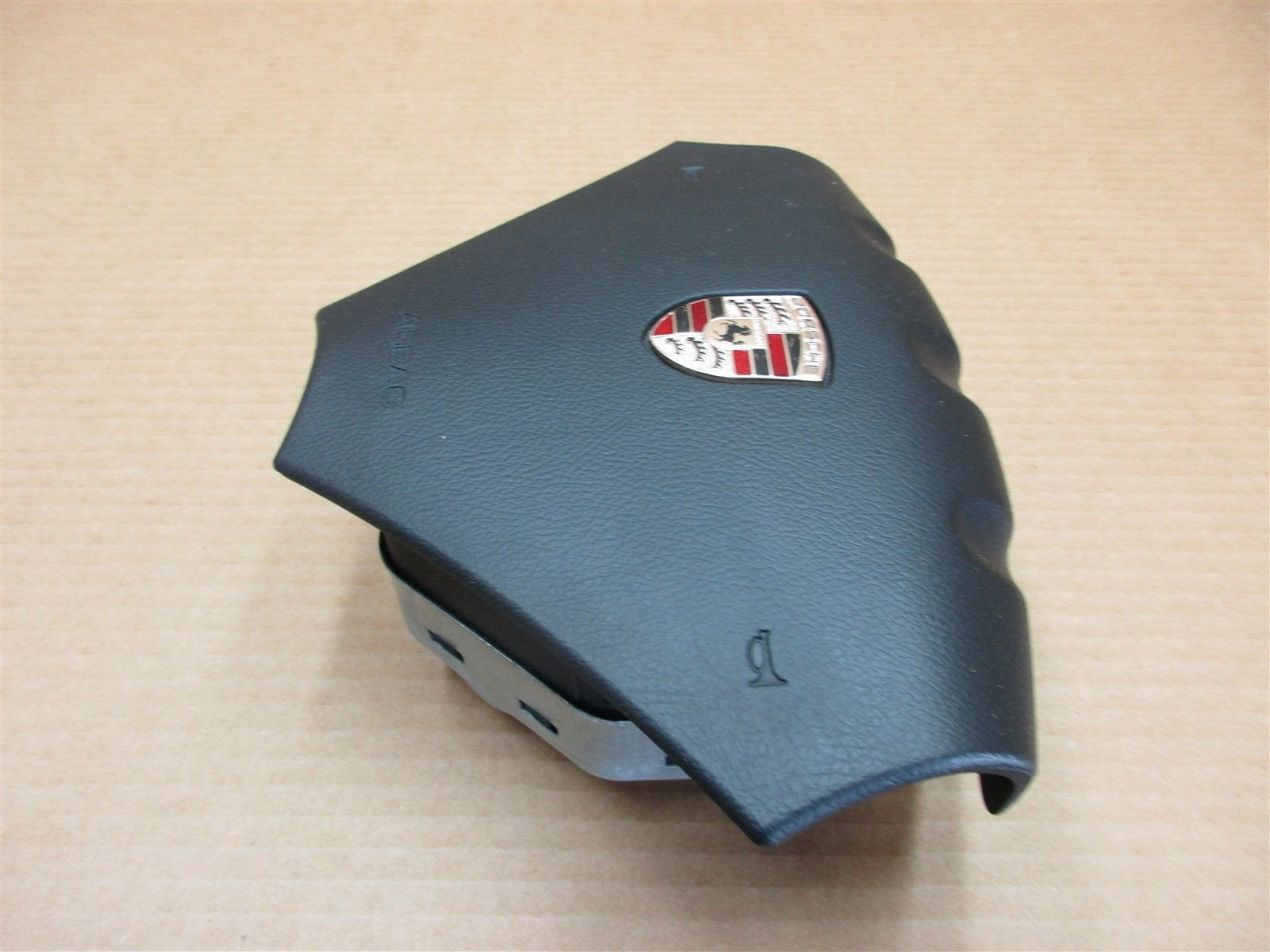 04 Cayenne S Porsche 955 L Black Vinyl 3 SPOKE STEERING WHEEL AIR BAG 199,414