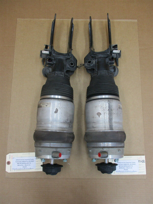 04 Cayenne Turbo AWD Porsche 955 FRONT SHOCKS 7L5412022AT 7L5412021AT 59,535