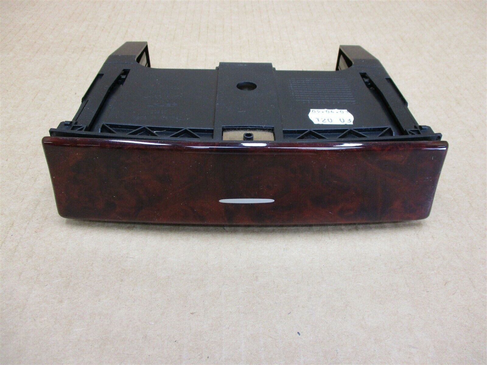 04 Cayenne Turbo AWD Porsche 955 Wood CONSOLE CUP HOLDER TRIM 7L5862532 89,934