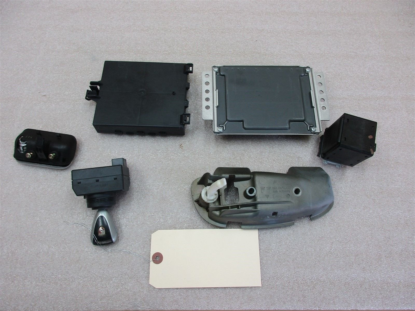 05 Boxster Porsche KEY IMMOBILISER SET ENGINE COMPUTER 99761860302 74,127