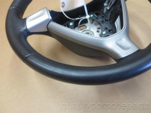 05 Boxster RWD Porsche 987 Black Leather STEERING WHEEL 99734780403 55,492