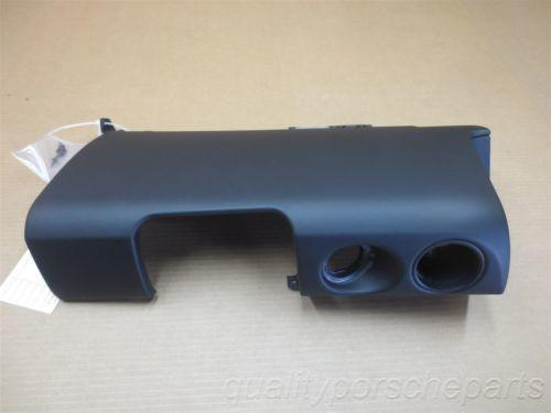 05 Boxster RWD Porsche 987 Black Vinyl Front Dash TRIM COVER PANEL 20,432
