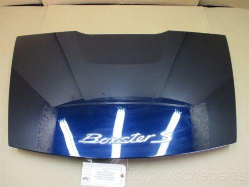 05 Boxster S RWD Porsche 987 Blue Rear Trunk HOOD LID COVER 89,748