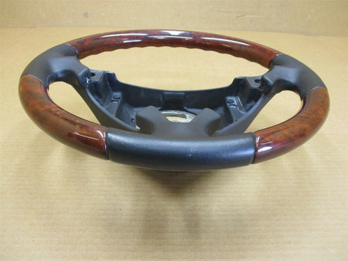 04 Cayenne Turbo AWD Porsche 955 Wood 3 SPOKE STEERING WHEEL 7L5419091 59,535